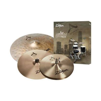 A City Pack Cymbal Set - 18'' Ride, 14'' Fast Crash, 12'' Hats