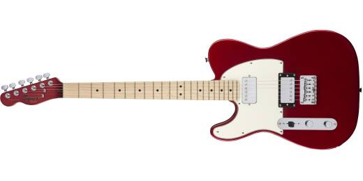 Contemporary Telecaster HH Left-Handed, Maple Fingerboard - Dark Metallic Red