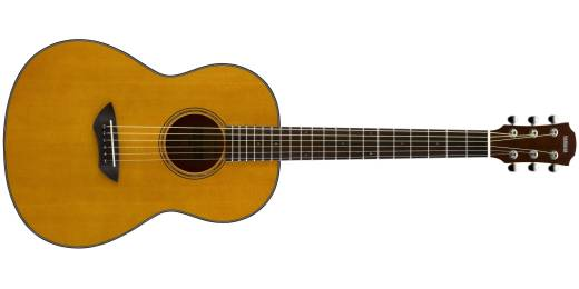 CSF1M Solid Top Acoustic-Electric Parlour Guitar - Vintage Natural