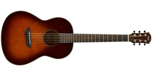 CSF3M All Solid Parlour Acoustic-Electric Guitar - Tobacco Brown Sunburst