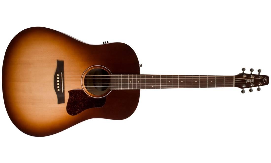 0229fdf14b8 Seagull Guitars Entourage Autumn Burst QIT Acoustic/Electric Guitar ...