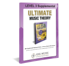 Ultimate Music Theory - UMT Level 3 Supplemental - St. Germain/McKibbon - Workbook