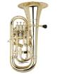 Cool Wind - Plastic 3 Valve Euphonium - Brass Finish