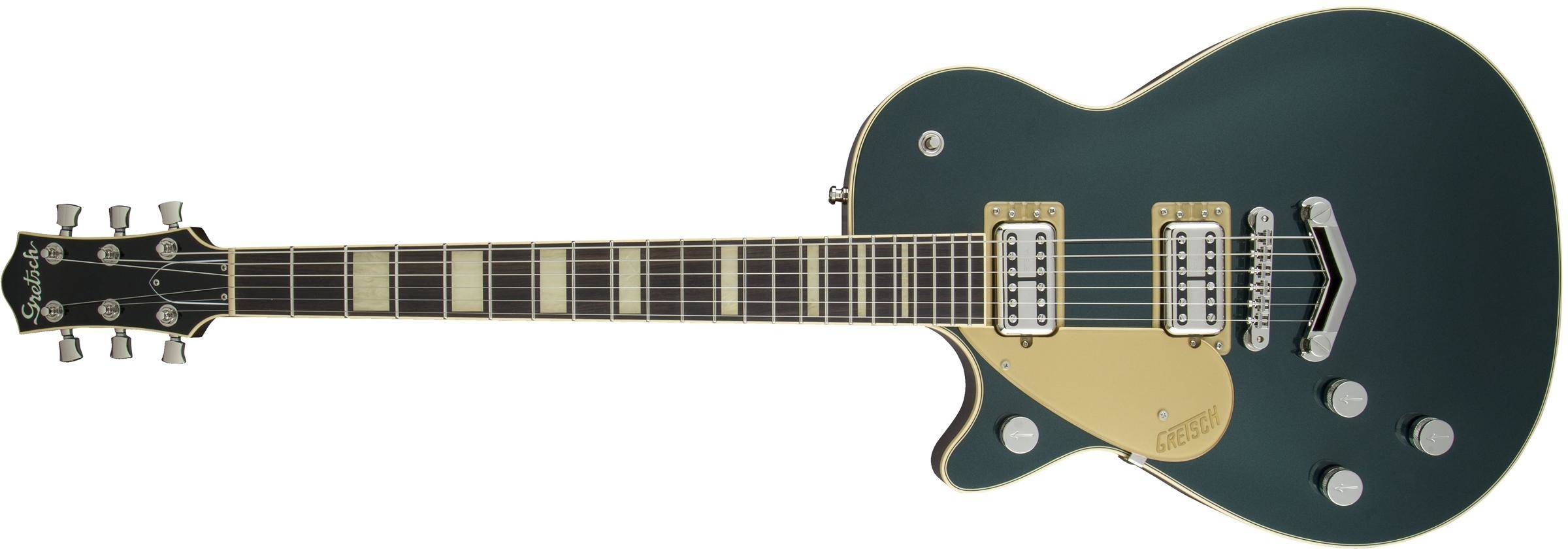 8d1cc130b71 Gretsch Guitars G6228LH Players Edition Jet BT With ''V'' Stoptail,  Rosewood Fingerboard - Cadillac Green, Left-Handed - Long & McQuade Musical  Instruments