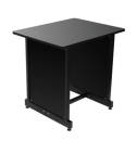 On-Stage Stands - WSR7500 Series Workstation Rack Cabinet- Black
