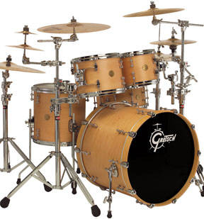 ccb6030f3819 Gretsch Drums Catalina Maple Series 6-Piece Drum Kit - Amber - Long ...