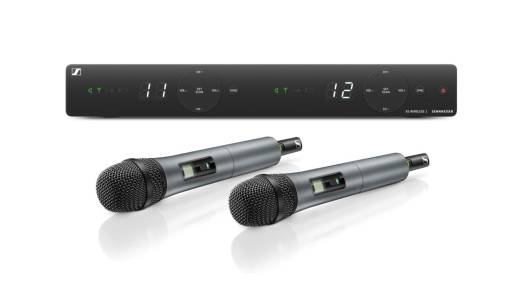 XS Wireless 1 Vocal Set with 2x e825 Dynamic Microphones