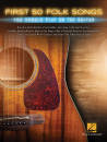 Hal Leonard - First 50 Folk Songs You Should Play on Guitar - Guitar TAB - Book