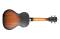 Archtop Tenor Ukulele with Electronics - Tobacco Burst