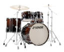 Sonor - AQ2 Stage 5-Piece Shell Pack (22,10,12,16,14 Snare) - Brown Fade