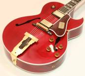 L-4CES Hollowbody Electric - Solid Mahogany Back - Wine Red Finsh