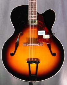 Venetian Solid Formed 17'' Archtop Jazz Guitar - Cremona Burst