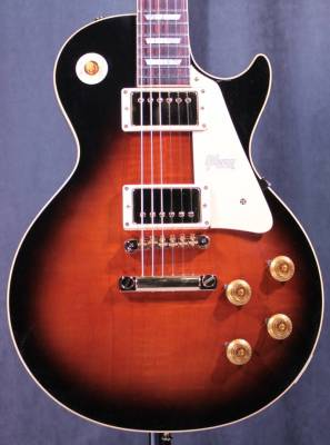 2017 Les Paul Standard Lightly Figured Ltd - Amber Sunset