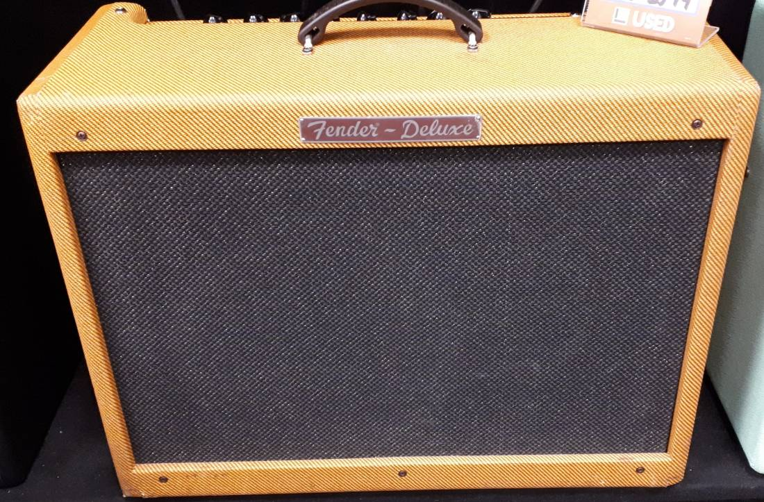 fender hot rod deluxe iii with celestion a type speaker lacquer tweed long mcquade musical. Black Bedroom Furniture Sets. Home Design Ideas
