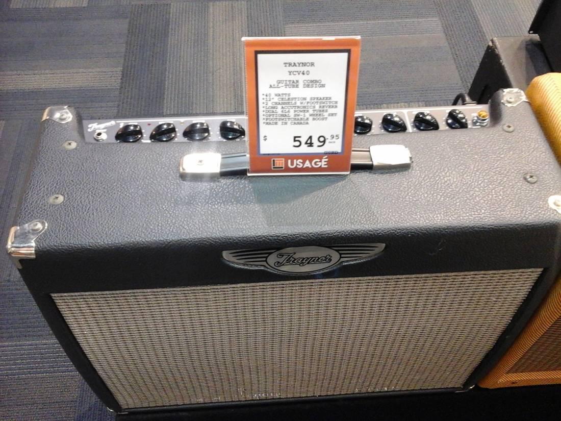 Custom Valve 40 Watt All-Tube 1x12 Guitar Combo Amp