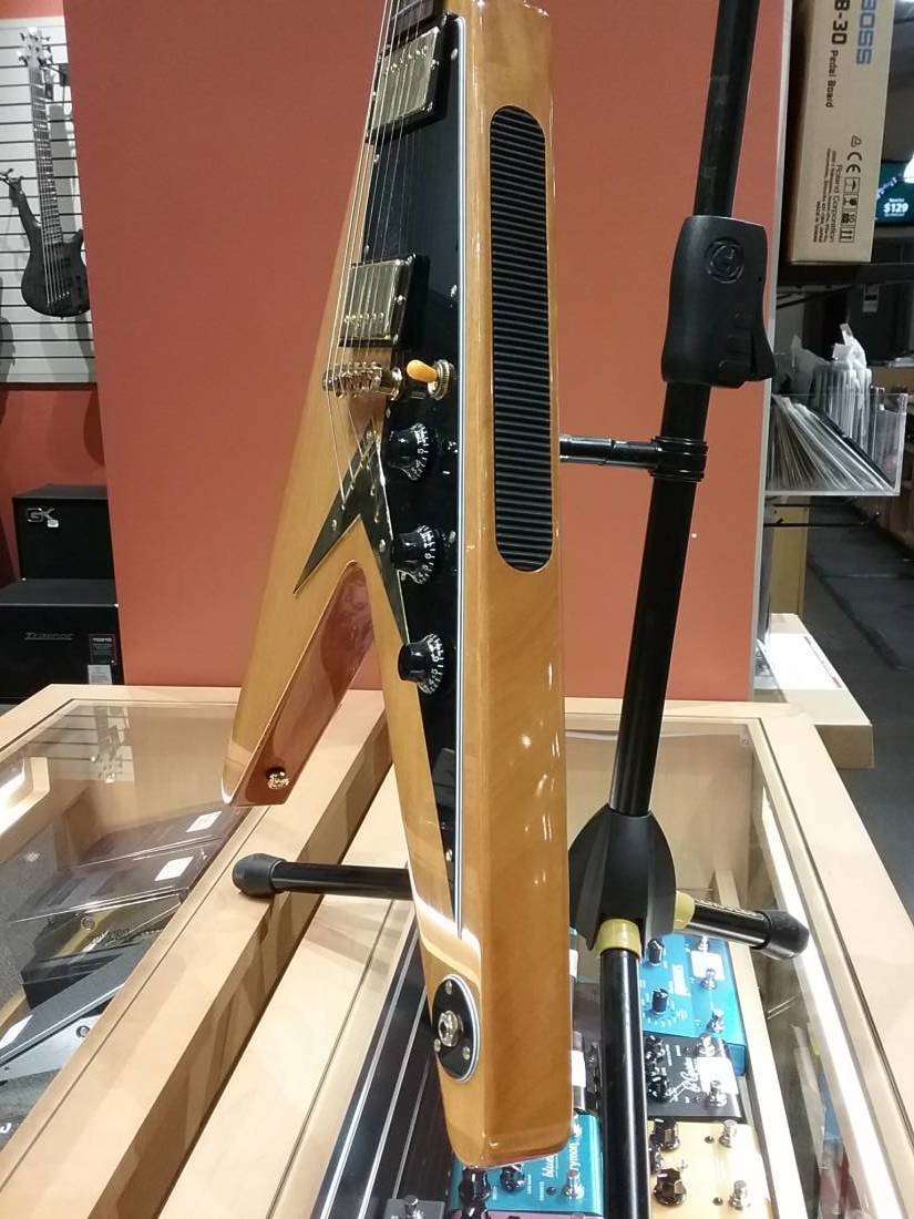 epiphone flying v korina long mcquade musical instruments. Black Bedroom Furniture Sets. Home Design Ideas