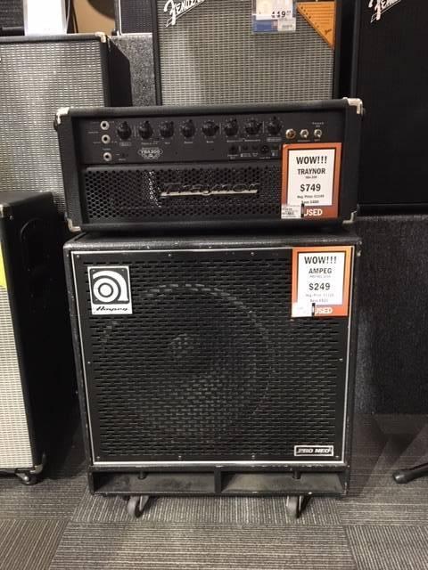 200 Watt All-Tube Bass Head