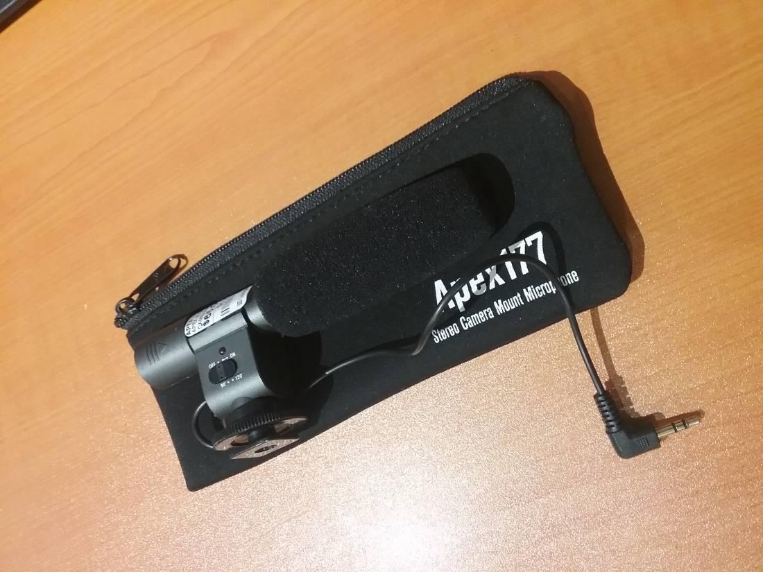 Apex Stereo Camera Mount Microphone Long Amp Mcquade