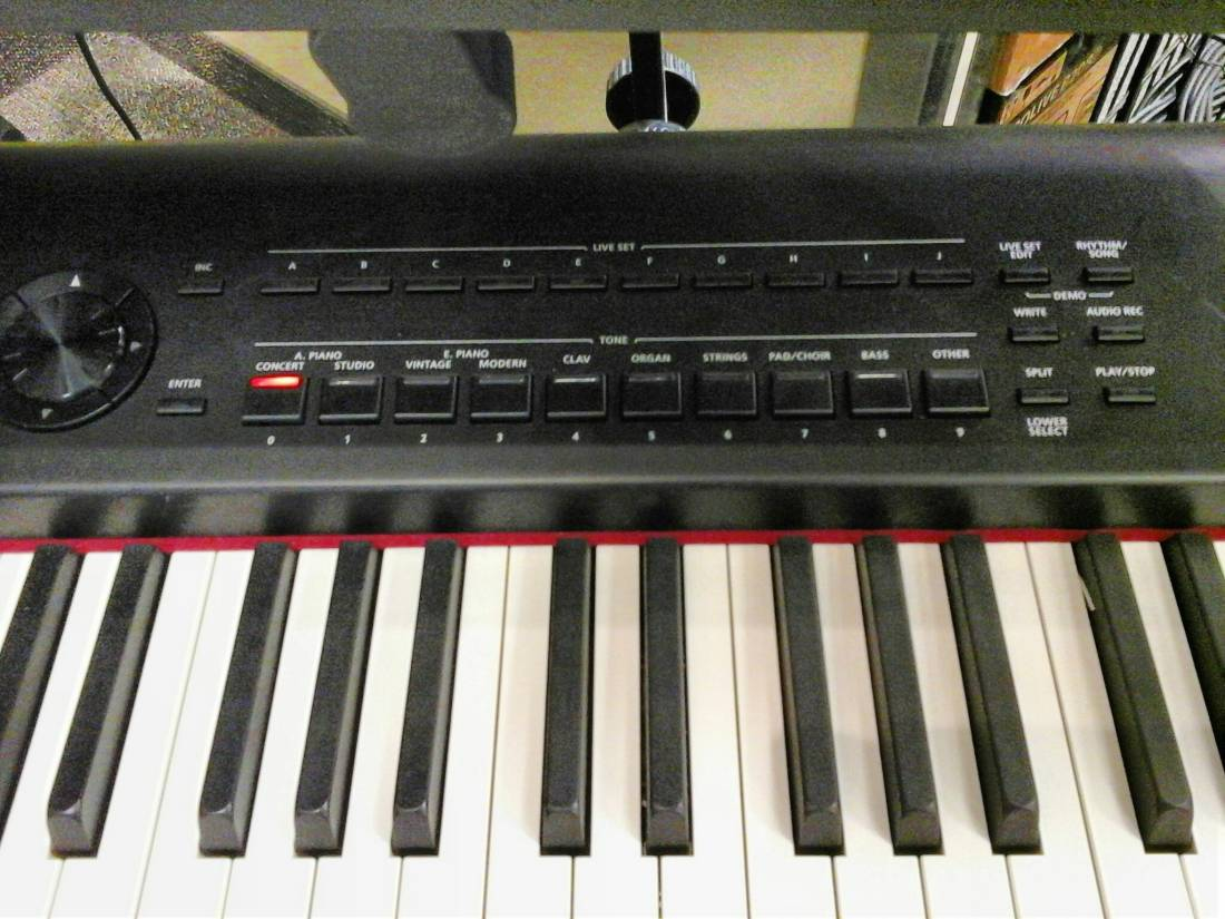 roland 88 key digital stage piano long mcquade musical instruments. Black Bedroom Furniture Sets. Home Design Ideas