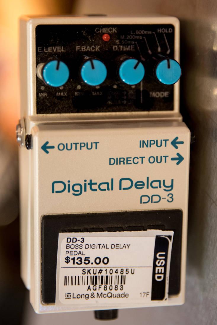boss digital delay long mcquade musical instruments. Black Bedroom Furniture Sets. Home Design Ideas