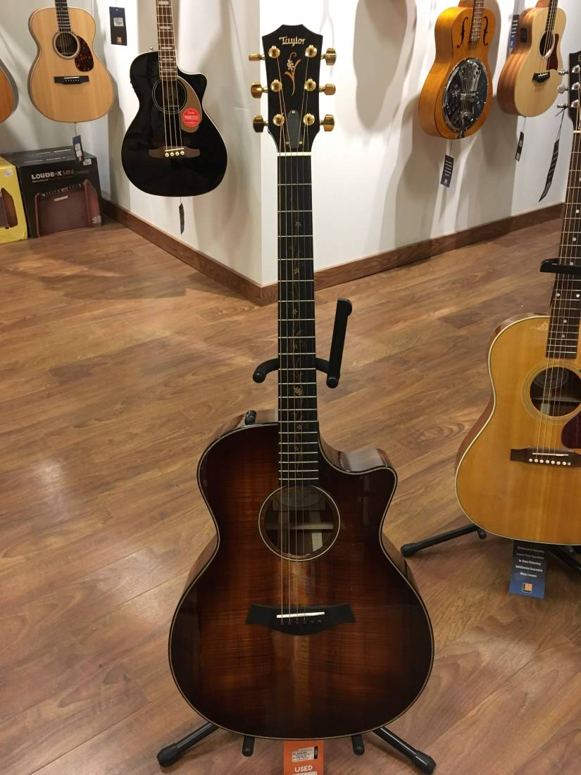 taylor guitars k24ce koa acoustic electric guitar w case long mcquade musical instruments. Black Bedroom Furniture Sets. Home Design Ideas