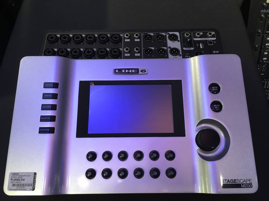 Stagescape 20-Channel Digital Mixer