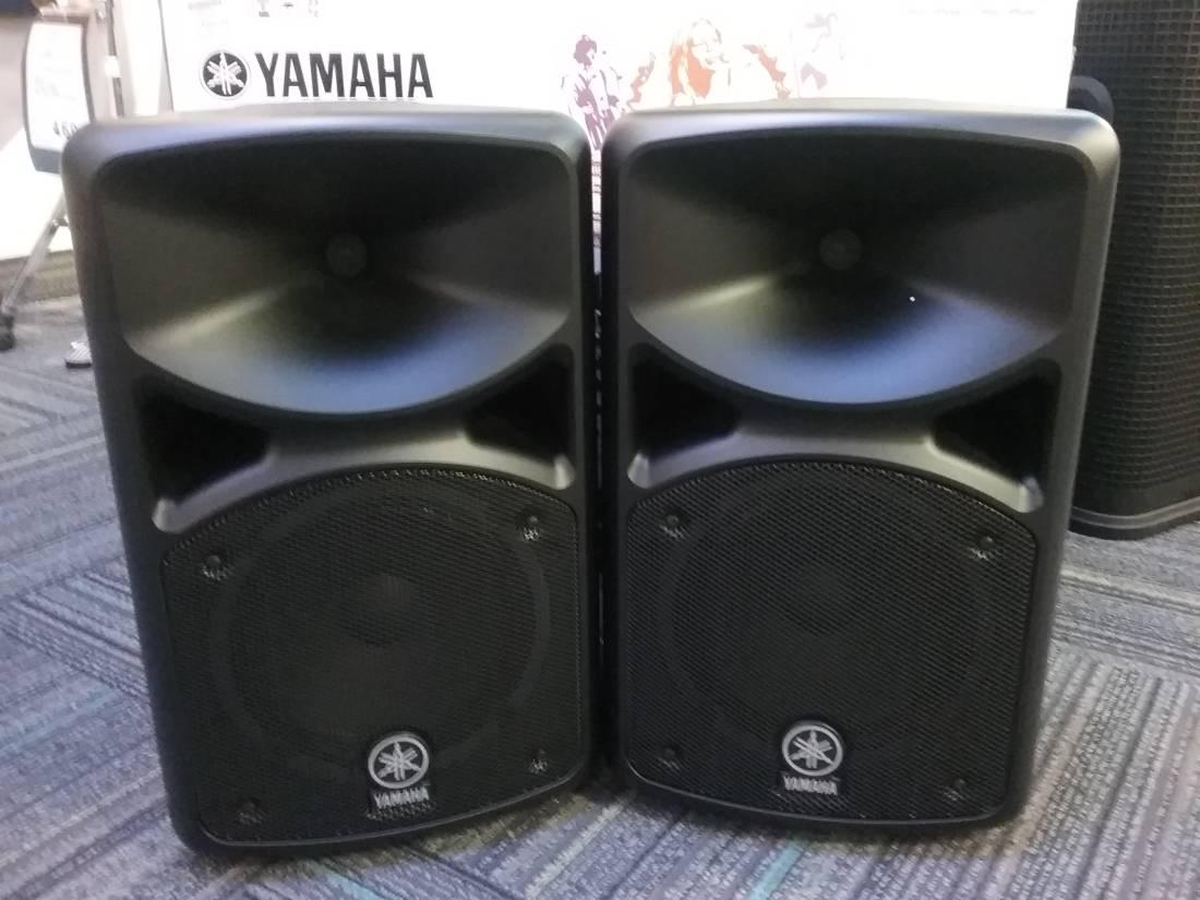 Yamaha stagepas 400i portable pa system long mcquade for Yamaha dxs12 specs