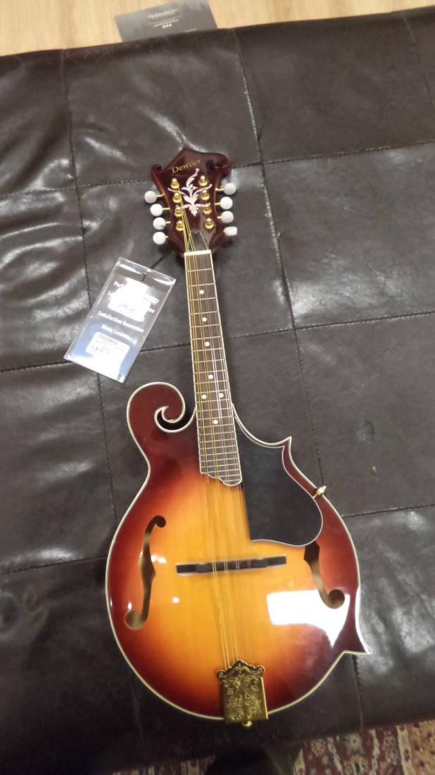 denver f style mandolin vintage sunburst long mcquade musical instruments. Black Bedroom Furniture Sets. Home Design Ideas