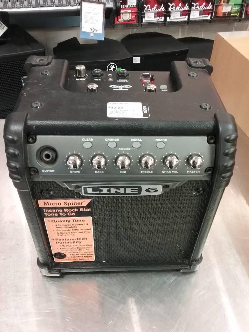 Line 6 Micro Spider Portable Amp Long Amp Mcquade Musical