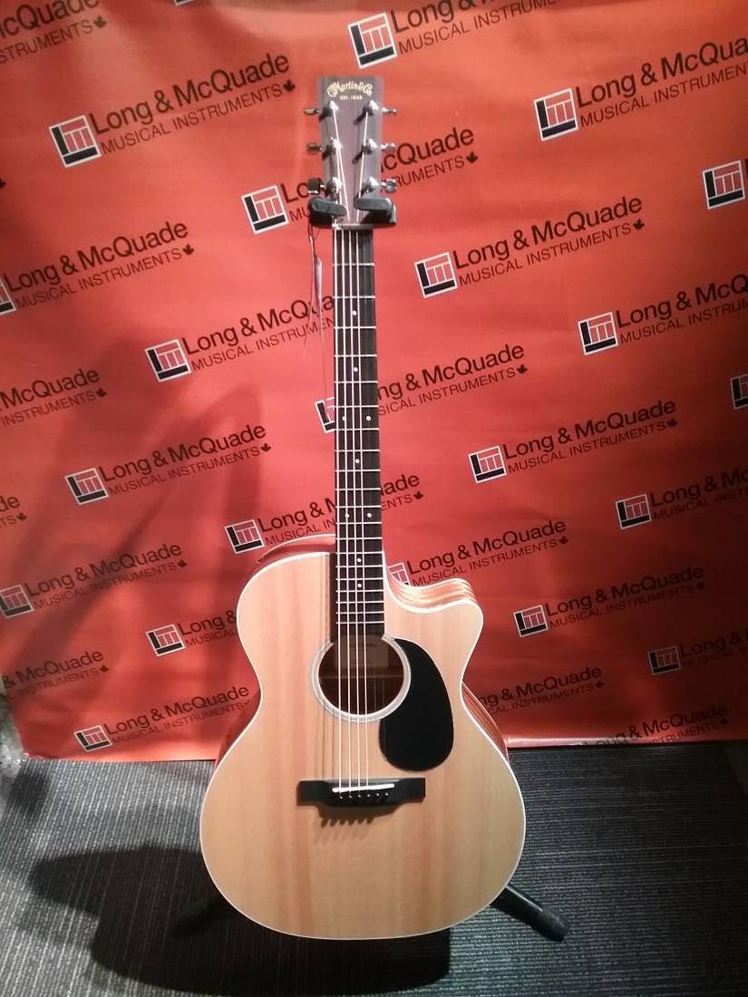 GPCRSG Grand Performance Cutaway Acoustic/Electric Guitar with Case