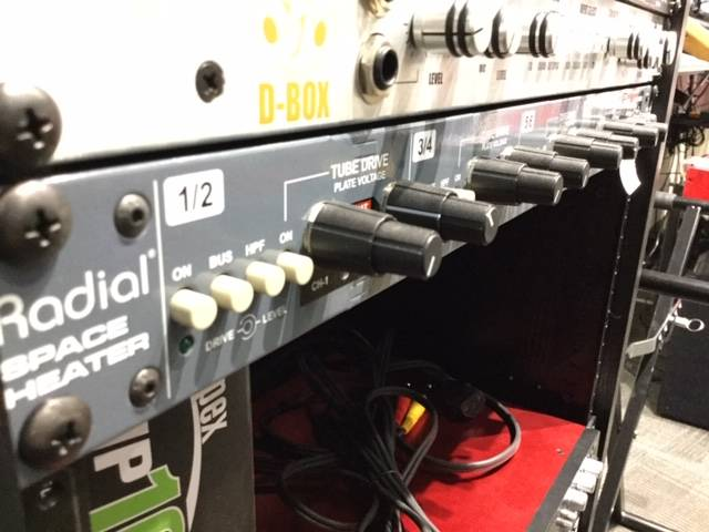 Space Heater 8-Channel Tube Summing Mixer
