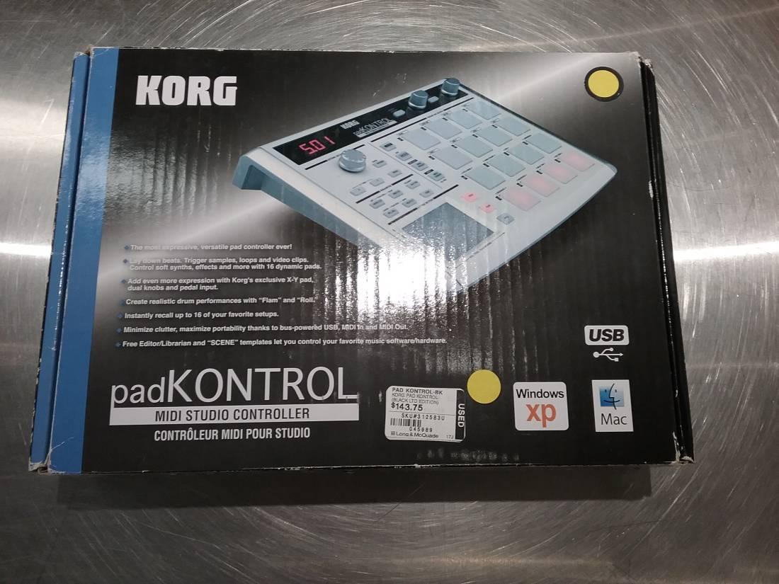 Korg Pad Kontrol - Black Limited Edition - Long & McQuade