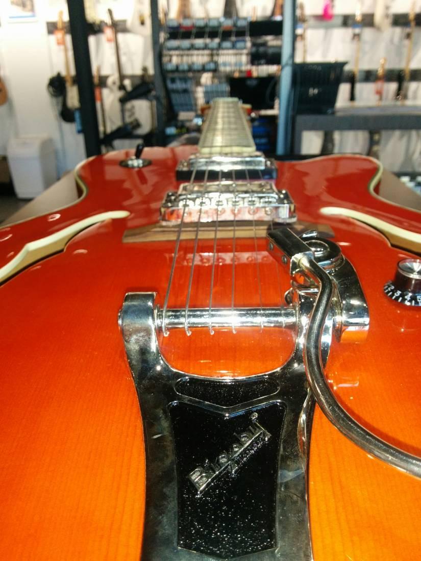 epiphone emperor swingster orange long mcquade musical instruments. Black Bedroom Furniture Sets. Home Design Ideas