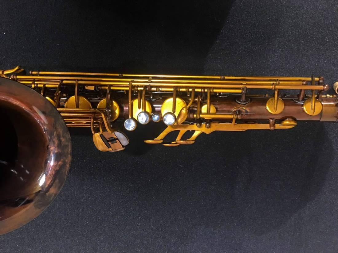 Julius Keilwerth Mkx Tenor Saxophone Antique Brass