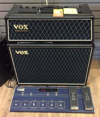 (USED) Vox Valvetronix AD60VTH Head with AD212 Speaker Cab & VC12 Foot Controller