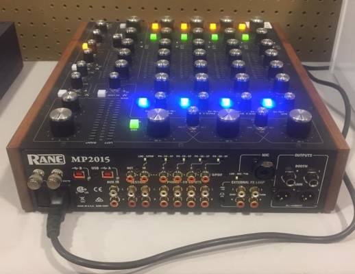 Store Special Product - (USED) Rane MP2015 Rotary Mixer with Dual USB