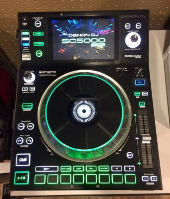 SC5000 Prime Professional DJ Media Player with 7'' Multi-Touch Display