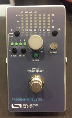 (USED) Source Audio Programmable EQ Pedal