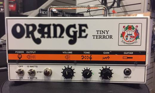 (USED) Orange Amplifiers Tiny Terror Series TT15 15W Tube Mini Amp Head with Padded Case