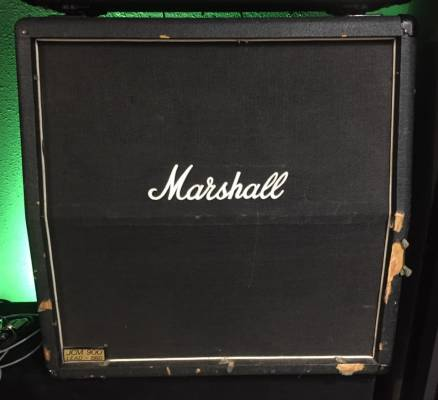 Store Special Product - (USED) Marshall 1960A - 4x12 Slant Cabinet