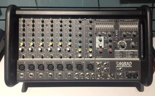 (USED) Yorkville Sound M810-2 Micromix 800-Watt Stereo 10 Channel Powered Mixer