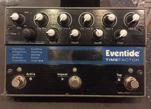 (USED) Eventide TimeFactor Guitar Effects Pedal