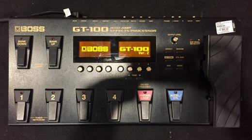 Store Special Product - (USED) BOSS GT100 Amp/Effects Processor