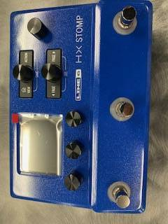 Store Special Product - HX Stomp Multi-Effects Processor- Limited Edition Lightning Blue