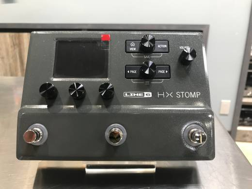 Line 6 HX Stomp Multi-Effects Processor - Limited Edition Gray