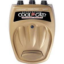 DANELECTRO COOL CAT TRANSPARENT OVERDRIVE