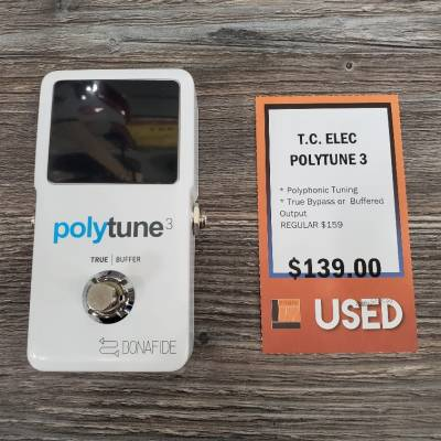 Store Special Product - Polytune 3 Ultra-Compact Polyphonic Tuner w/Built-In Buffer