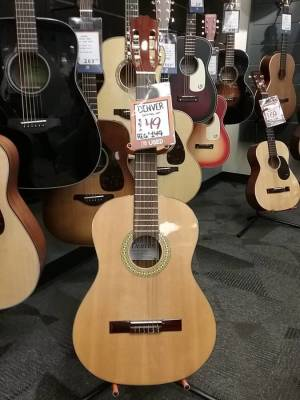 Store Special Product - Classical Guitar - Full Size - Left Handed - Natural