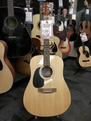 Store Special Product - Acoustic Guitar - Full Size - Left Handed - Natural