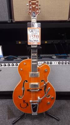 G6120RHH Reverend Horton Heat Hollowbody Electric Guitar - Orange Lacquer